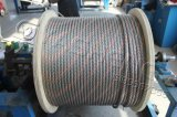 Câble métallique d'acier inoxydable 316 7*7-2mm