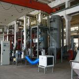 Sistema stridente superiore del laminatoio per il rivestimento della polvere