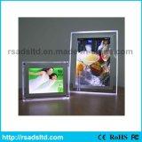 Bester Preis LED, der Acryldünnen hellen Kristallkasten bekanntmacht