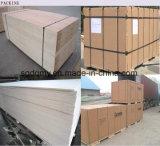 Hoja fina de la madera contrachapada del grado de los muebles con la mejor calidad