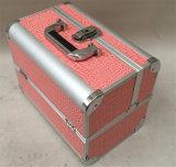 2016의 형식 단단한 옆 알루미늄 메이크업 허영 Case/Portable는 단단한 장식용 상자 Hcc-161를 비운다