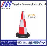 Cone de borracha padrão da estrada do PVC da base do Ce da alta qualidade