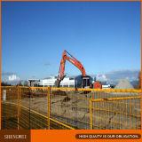 Cerco provisório da construção de aço de Canadá para a venda