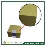 Caixa de brinco de jóias de madeira de dois tons elegante