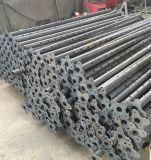 最上質の電流を通された鋼鉄足場