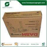 Cadres de empaquetage de carton de Brown réutilisés par coutume