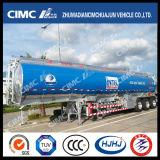 Cimc Huajun 3axle Aluminium Alloy Tanker Exported