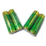 Leitungskabel-Zink-Chlorid-trockene Batterie der AA-Kohlenstoff-Zink-Batterie-0%