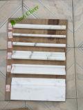 Mattonelle di marmo bianche di corrispondenza del mosaico 24X24