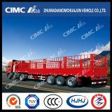 Cimc Huajun Top Quality Stake / Cargo Trailer com Gooseneck