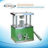 Щипцыа клетки монетки оборудования лаборатории батареи в случаи клетки кнопки гофрируя