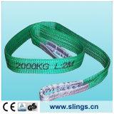 Imbracatura pesante della tessitura della fibra di Sln Synthectic con gli occhi