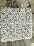 Prezzo del rivestimento di prezzi di Bianco Carrara di pavimento di marmo bianche più basse delle mattonelle e della parete