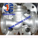API/DIN Kohlenstoffstahl-/Form-Stahl-Flansch-Schwingen-Rückschlagventil