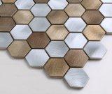 Mosaico 2017 del metal del hexágono de Europa