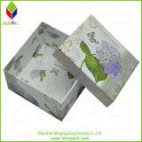 엄밀한 칼라 박스를 인쇄하는 고대 꽃