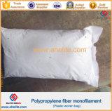 Fibre à haute résistance additive concrète de maille de polypropylène