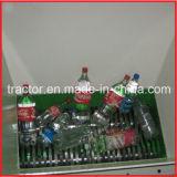 Бутылки двойных валов пластичные/сплетенные мешки/неныжная ткань задавливая машину