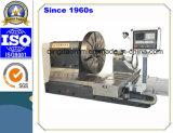 Máquina del torno del CNC para la rueda automotora del engranaje del motor que trabaja a máquina (CK61100)