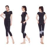L'yoga di nylon di yoga di alta qualità grigia del reggiseno ansima le donne Legging