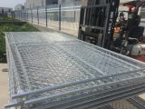 Загородка конструкции звена цепи временно