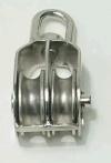 Ferragem do equipamento da ferragem do aço inoxidável---Polia dobro do bloco da roda