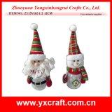 Produits chauds de poste de bouteille de Noël de décoration de village de Noël de la décoration de Noël (ZY15Y152-1-2)