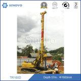 Piles de base de foret de plate-forme de forage rotatoire/machine de TR160D