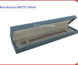 Fabricante de cuero agradable de la caja de embalaje de la joyería del regalo