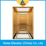 機械Roomless Vvvfの牽引駆動機構の乗客の別荘のホームエレベーターDkw1600
