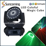 Disco DJ Light RGBW 4 em 1 diodo emissor de luz Moving Head