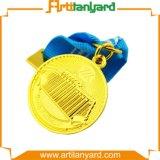 Médaille de luxe d'or de modèle de propriétaire