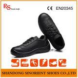 Стальные ботинки работы пальца ноги для офицера
