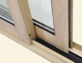 Puder beschichtetes Knall-Verschluss-thermisches Bruch-Aluminiumprofil-schiebendes Fenster Kz142
