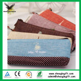 China Direct Factory Sell Canvas Cotton Pencil Case