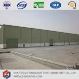 Construction galvanisée d'atelier de structure métallique