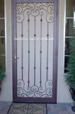 Traditional Square Top Wrought Iron Doors