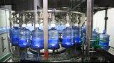80-3000bph llenador puro en botella cinco galones del agua