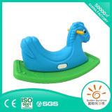 Cavallo di oscillazione d'oscillazione di plastica del giocattolo dei bambini con il certificato di CE/ISO