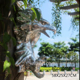 Polyresin 잘 고정된 장식적인 인공적인 독수리