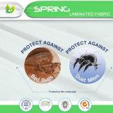 Dekking van de Beschermer van de Matras van het Bewijs van het Insect van het Bed van de Mijt van het anti-Stof Hypoallergenic van China de In het groot Waterdichte