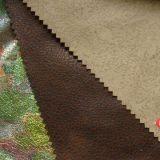 청동색으로 만들기 스웨드 직물 (J101-TJ)를