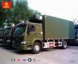 Camion de réfrigérateur de Sinotruk 13000L pour le transport