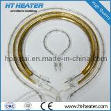 Tubo infrarrojo del calentador del halógeno de la alta calidad de Hongtai