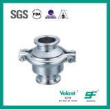 Válvula de verificación soldada estruendo del acero inoxidable 304 316L Stanitary Sfx043