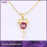 女の子の毎日の摩耗のためのめっきされた銀製のジルコンの宝石類の方法宝石類セット