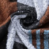 Het Acryl Omkeerbare Kasjmier van vrouwen zoals Sjaal van de Sjaal van de Winter van de Druk van de Ster de Warme dik Gebreide Geweven (SP270)