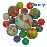 6 Bal Bouncy van de Regenboog van het Reductiemiddel van de Spanning van cm de Stevige