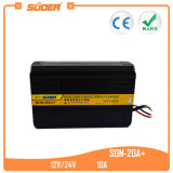 Suoer 20A 12V 24V Ladegerät mit LCD-Bildschirmanzeige (SON-20A+)