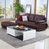 2017 neues Moden Wohnzimmer-echtes Leder-Sofa